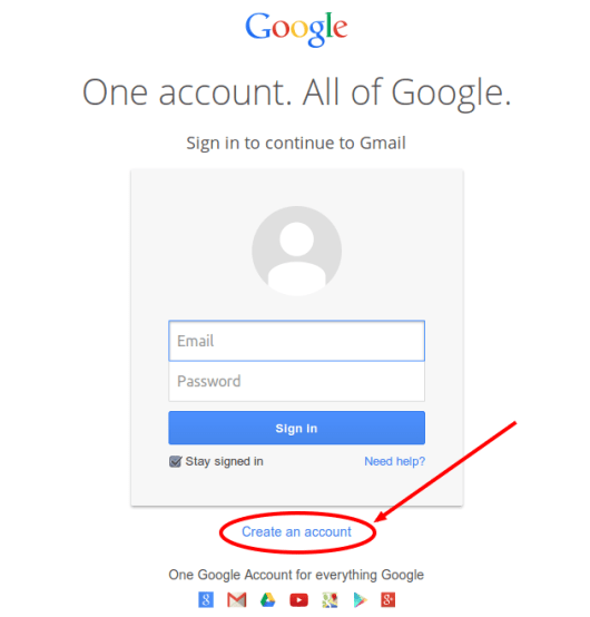 form gmail