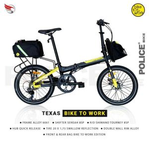 Sepeda Lipat Police Texas